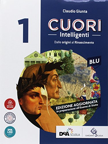 9788869645266: Cuori intelligenti. Con Modelli di scrittura. Ediz. blu. Per le Scuole superiori. Con ebook. Con espansione online: 1
