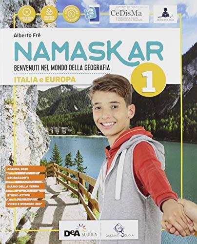 9788869645686: Namaskar.. Per la Scuola media. Con e-book. Con espansione online. Con Libro: Regioni-Agenda 2030. Con DVD-ROM (Vol. 1)