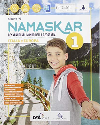 9788869645693: Namaskar. Per la Scuola media. Con e-book. Con espansione online. Con DVD-ROM. Con Libro: Agenda 2030 (Vol. 1)
