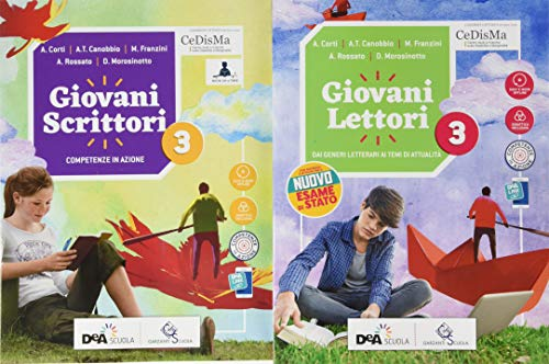 9788869645815: Giovani lettori. Per la Scuola media. Con e-book. Con espansione online. Con Libro: Giovani scrittori. Con DVD-ROM: 3