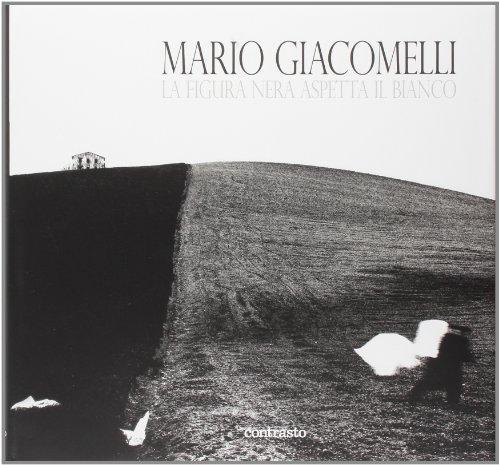 La figura nera aspetta il bianco - Giacomelli, Mario