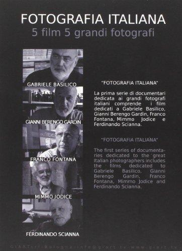 9788869652073: Fotografia italiana. 5 film 5 grandi fotografi: Gabriele Basilico-Gianni Berengo Gardin-Franco Fontana-Mimmo Jodice-Ferdinando Scianna. 5 DVD