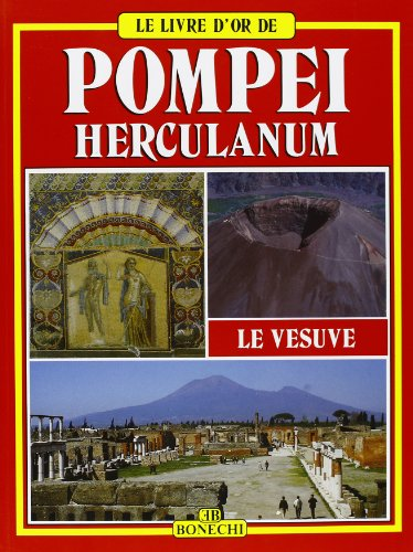 9788870097399: Pompéi, Herculanum, le Vésuve (Le livre d'or de)