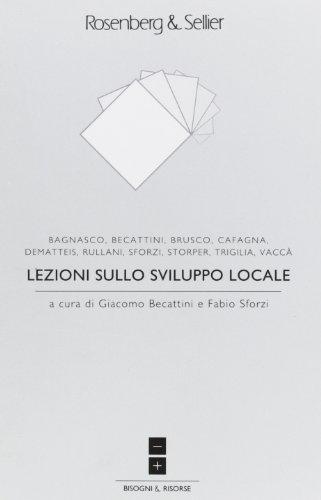 9788870118780: Lezioni sullo sviluppo locale