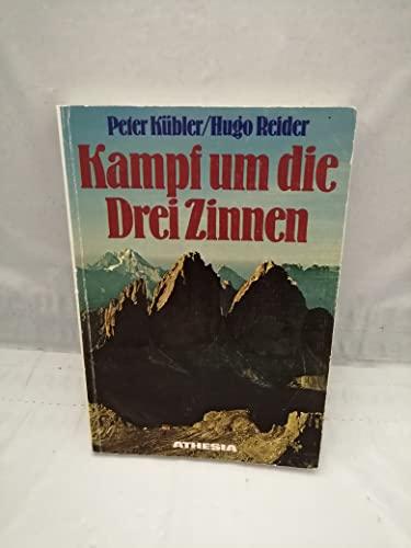 9788870142310: Kampf um die Drei Zinnen. Das Herzstück der Sextener Dolomiten 1915-17 und heute