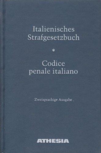 9788870148022: Italienisches Strafgesetzbuch-Codice penale italiano