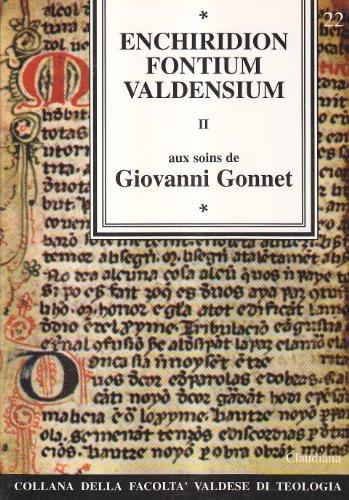 9788870162806: Enchiridion fontium valdensium