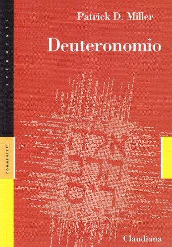 9788870167184: Deuteronomio