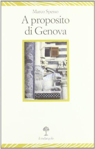 9788870188653: A proposito di Genova
