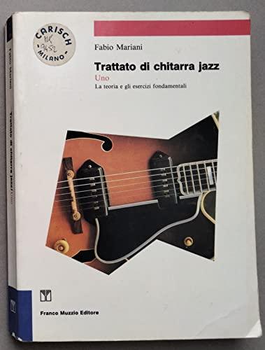 9788870212891: Trattato di chitarra jazz: 1