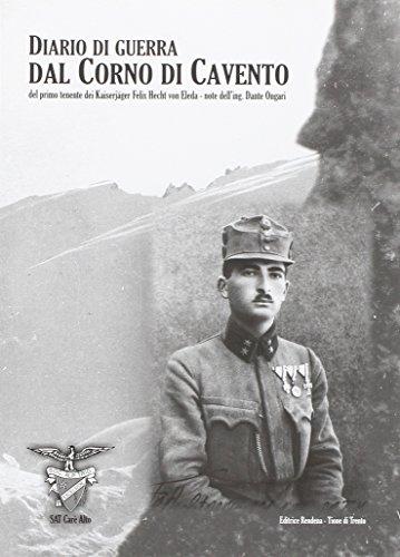 9788870242102: Diario di guerra dal Corno di Cavento