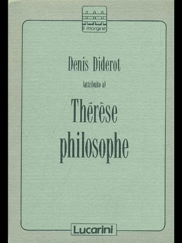 9788870335026: Therese philosophe