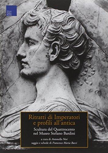 Ritratti di imperatori e profili all'antica. Scultura: Francesca M. Bacci