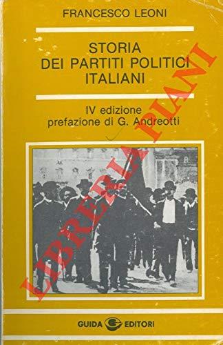 9788870420197: Storia dei partiti politici italiani