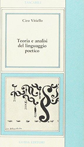 Teoria e analisi del linguaggio poetico.: Vitiello,C.