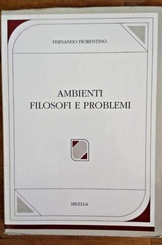9788870482478: Ambienti, filosofi e problemi: 2