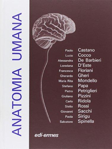 9788870510249: Anatomia umana