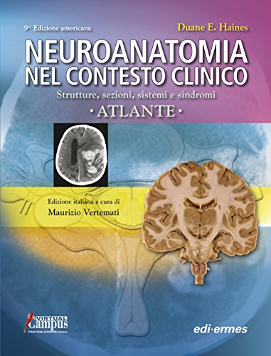 9788870514988: Neuroanatomia nel contesto clinico. Strutture, sezioni, sistemi e sindromi. Atlante