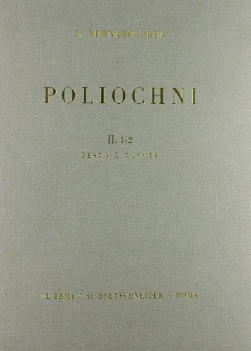 Poliochni. CittÃ: preistorica nell'isola di Lemnos vol. 2 (9788870621273) by [???]
