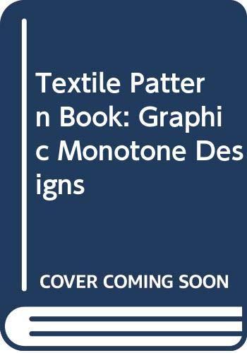 9788870701425: Textile Pattern Book: Graphic Monotone Designs