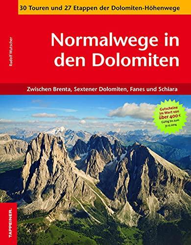 9788870735024: Normalwege in den Dolomiten