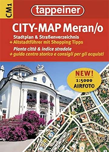 9788870736762: Stadtplan Meran / Merano Citymap