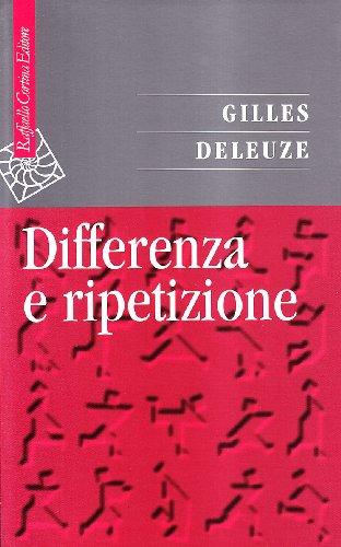 Differenza e ripetizione (8870784592) by Gilles Deleuze