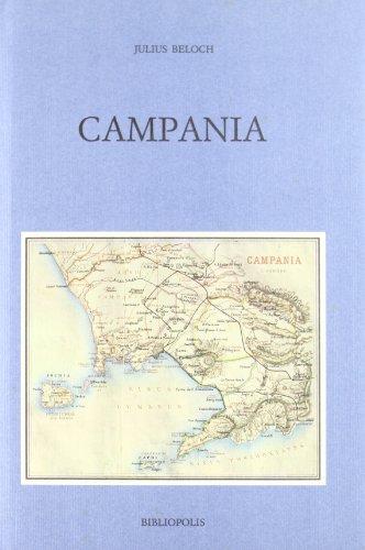 9788870882131: Campania: Storia e topografia della Napoli antica e dei suoi dintorni