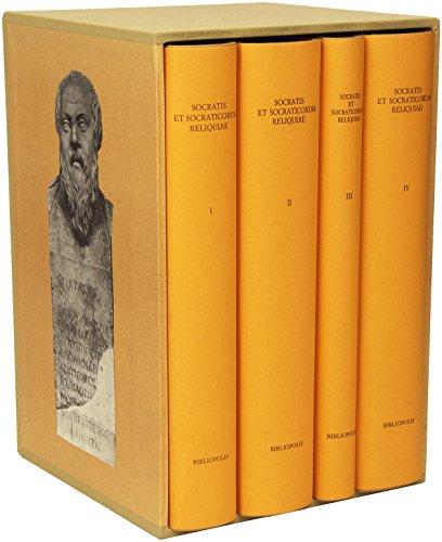 9788870882155: Socratis et socraticorum reliquiae (1-4) (Elenchos)