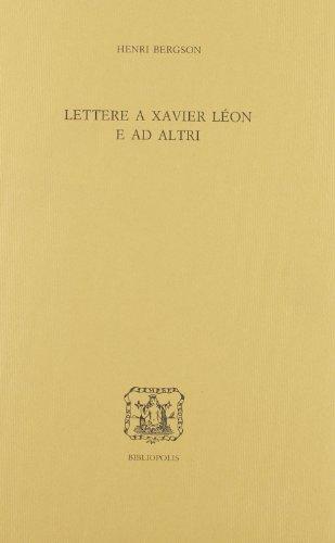 Lettere a Xavier Léon e ad altri (8870882683) by [???]