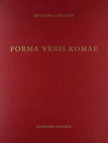 9788870970012: Forma urbis Romae (Italian Edition)