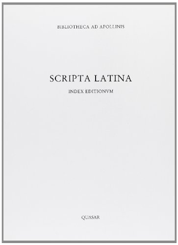 Scripta Latina: Index Editionum: Guidobaldi, M.P. & F. Pesando