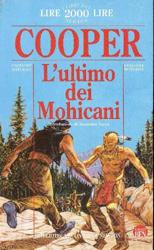9788871005409: L'ultimo dei Mohicani