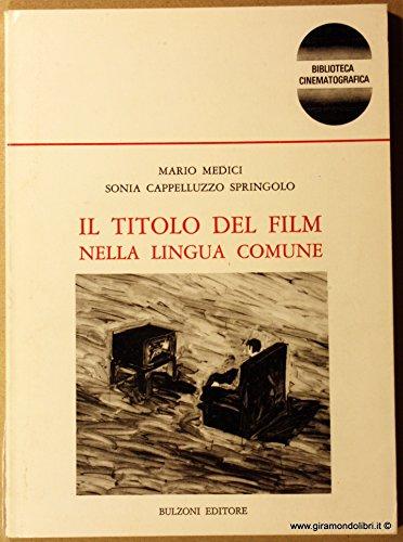 Il titolo del film nella lingua Comune: MEDICI M. e
