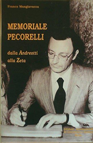 9788871300139: Memoriale Pecorelli: dalla Andreotti alla Zeta (Verità storiche)