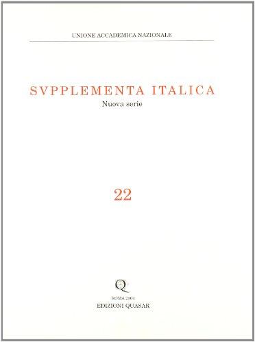Supplementa italica