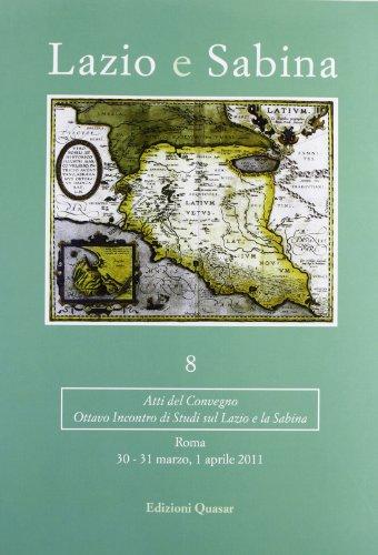 Lazio e Sabina, 9 : atti del