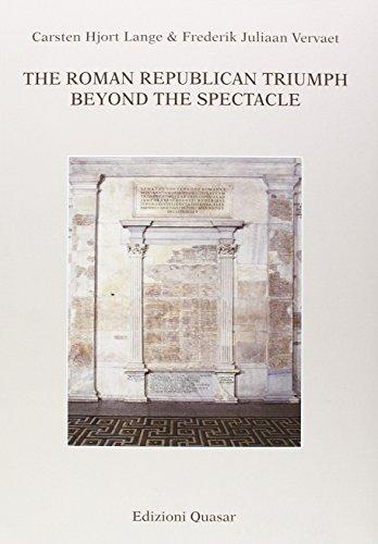 9788871405766: The Roman Republican Triumph. Beyond the spectacle
