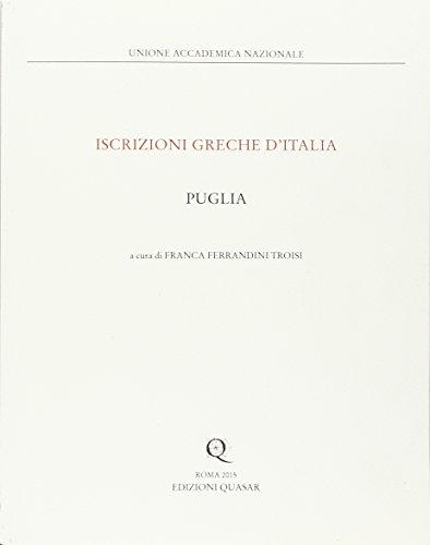 9788871406589: Puglia