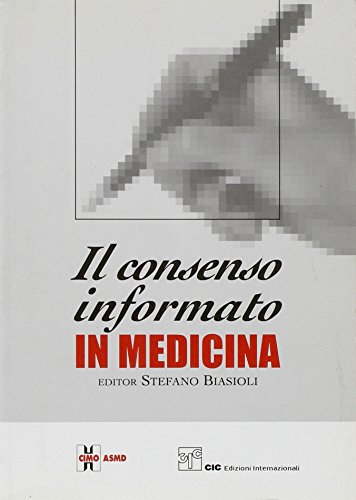 Il consenso informato in medicina.
