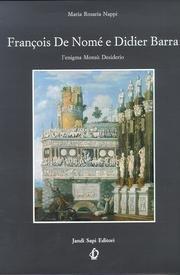 9788871420103: François de Nomé e Didier Barra. L'enigma Monsù Desiderio