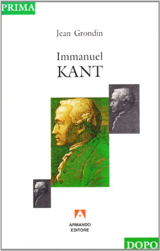9788871443874: Immanuel Kant