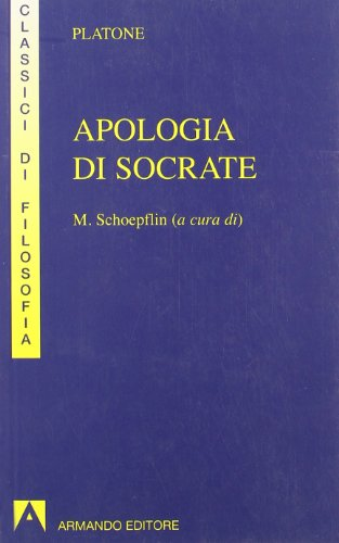 9788871444567: Apologia di Socrate