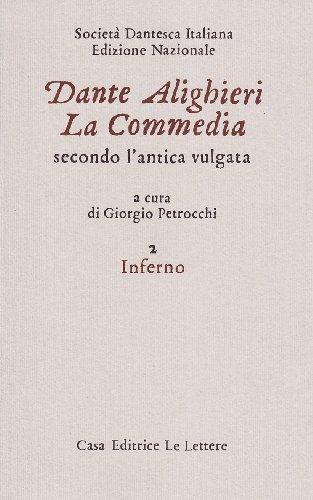9788871661490: La commedia secondo l'antica vulgata vol. 2 - Inferno