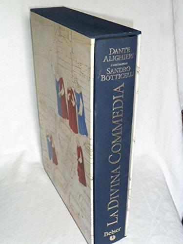 9788871662985: La Divina Commedia illustrata da Sandro Botticelli (I grandi libri illustrati)