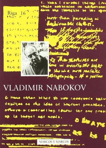 9788871682099: Vladimir Nabokov