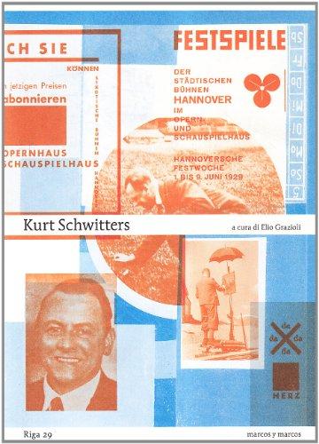 9788871685137: Kurt Schwitters (Riga)
