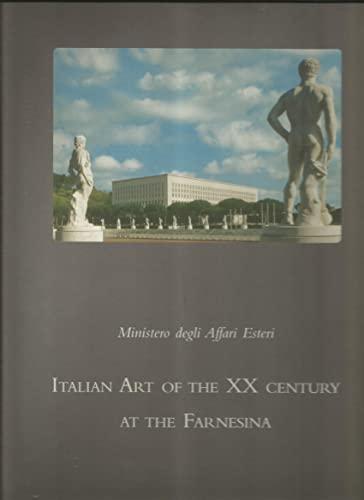 Art italien du XXe siècle à la Farnesina.: Calvesi,Maurizio. Portoghesi,Paolo.