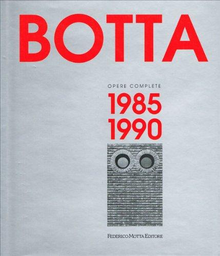 9788871790855: Mario Botta. Opere complete (1985-1990). Ediz. illustrata