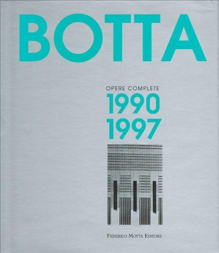 9788871791326: Mario Botta. Opere complete (1990-1997)